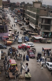 KUNDUZ, AFGHANISTAN-NOVEMBER, 2012: Kunduz streets. (Picture by Veronique de Viguerie/Reportage by Getty Images)