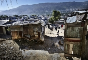 PORT-AU_PRINCE, HAITI-NOV, 2014: Bidonville de Bel Air. (Photo by veronique de Viguerie/Reportage by getty images).