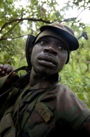 CHASSE A L'HOMME MORBIDE EN AFRIQUE
