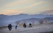 """Les hommes du commandant taliban Momin dans la province de Ghazni et le district d'Andar restent très actifs malgrés l'opération """"Andar Fury"""" lancée par les Américains. Leurs opérations contre les troupes étrangères sont pratiquement quotidiennes. Andar, Ghazni, Afghanistan. Vendredi 24 Novembre 2006."""