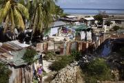 PORT-AU-PRINCE, HAITI- NOV, 2014: Bidonville. (Picture by Veronique de Viguerie/Reportage by getty images)