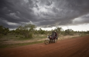 CHIBOK, NIGERIA-JUNE, 2014: Vigilantes on the road to Chibok. (Picture by Veronique de Viguerie/Reportage by Getty Images).