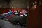 BEDING, NEPAl-APRIL, 2015: La seule éducation possible pour les enfants de la vallée, ce monastère bouddhiste. Les enfants, très loin de chez eux, y dorment à l'année. L'education est dispensée en langue tibetaine, peu utilisée au Népal. (Picture by Veronique de Viguerie/Reportage by Getty Images)
