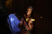 CHIBOK, NIGERIA-JUNE, 2014: Salome is holding her daughter Salome's uniform kidnapped the 14th of April. (Picture by Veronique de Viguerie/Reportage by Getty Images).