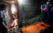 MANILA, PHILIPPINES - OCT, 2016: Four were killed in what seemed to be a Shabu session. (Picture by Veronique de Viguerie/ Reportage by Getty Images).