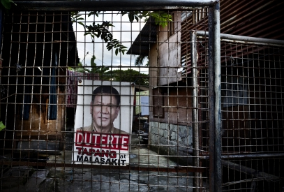 MANILA, PHILIPPINES - OCT, 2016: President Rodrigo Duterte is still very popular. (Picture by Veronique de Viguerie/ Reportage by Getty Images).