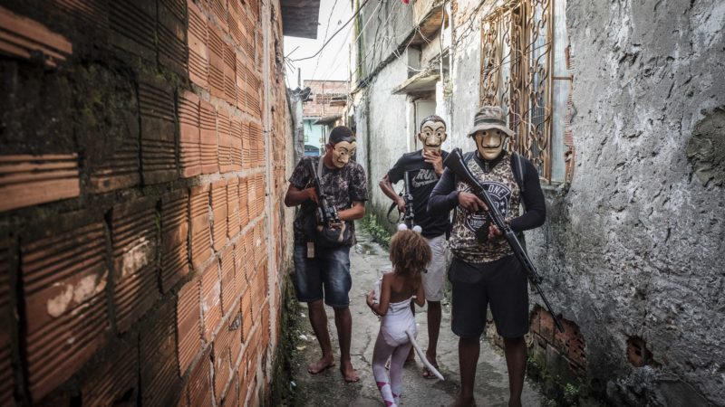 THE CARNAVAL OFF IN FAVELAS IN RIO