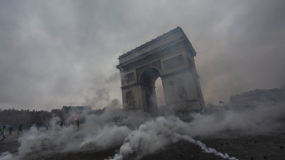 YELLOW VESTS PROTESTS IN PARIS