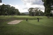 """CARACAS, VENEZUELA- NOV, 2018: Le golf du Carcas Country Club ou se réuni toute l'aristocratie et la haute bourgeoise de Caracas, les """"bolichicos"""". (Picture by Veronique de Viguerie/Reportage by Getty Images)"""