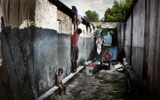 ARTIBONITE, HAITI-NOV, 2014: (Photo by veronique de Viguerie/Reportage by getty images).