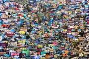 PORT-AU_PRINCE, HAITI-NOV, 2014: Le quartier de Jalousie a Port-au-Prince. (Photo by veronique de Viguerie/Reportage by getty images).