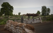 DAMBOA, NIGERIA: security on the road from Maiduguri to Chibok. (Picture by Veronique de Viguerie/Reportage by Getty Images)