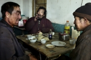 GUYANG, CHINA-FEBRUARY, 2011: Workers at lunch break. (Photo by Veronique de Viguerie/Reportage by Getty Images)