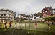 KATHMANDU, NEPAl-APRIL, 2015: Quartier Sherpa à Katmandou. (Picture by Veronique de Viguerie/Reportage by Getty Images)