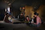 SIMIGAON, NEPAl-APRIL, 2015: L'ethnie Tamang vit en harmonie avec les Sherpas dans le village de Simigaon. Les femmes Tamang affectionnent particulièrement les boucles de nez.(Picture by Veronique de Viguerie/Reportage by Getty Images)