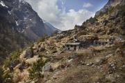 JOBALU, NEPAl-APRIL, 2015: Beaucoup de villageois ont quitté ces villages reculés de la vallée pour aller s'installer à Katmandou.  (Picture by Veronique de Viguerie/Reportage by Getty Images)