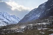NA, NEPAL-APRIL, 2015: Village de Na ou Nagaon au fin fond de la vallée de Rolwaling à 4180m d'altitude. (Picture by Veronique de Viguerie/Reportage by Getty Images)