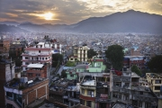 KATHMANDU, NEPAL-APRIL, 2015: La capitale, une des plus polluées au monde, Katmandou. (Picture by Veronique de Viguerie/Reportage by Getty Images).