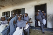 MAIDUGURI, NIGERIA-JUNE, 2014: Because all the public schools are closed. The children have to go to madrassas. (Photo by Veronique de Viguerie/Reportage by Getty Images)