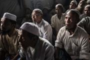 COX BAZAR, BANGLADESH- SEPT, 2018: Les membres de l'Arakan Rohingya Society for Peace and Human Rights, ont récolté des preuves des viols systématiques des femmes par l'armée Birmane. Ils veulent une condamnation des généraux Birmans au Tribunal International. (Picture by veronique de Viguerie/Getty Reportage)