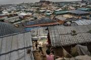 COX BAZAR, BANGLADESH- SEPT, 2018: Les enfants sont partout dans les camps de réfugiés Rohingya de Cox Bazar. (Picture by veronique de Viguerie/Getty Reportage)