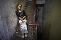YANGON, MYANMAR- JUNE, 2015: Wai Wai Nu is a Rohingya activist. She is working for Women Peace Network in Arakan. She is denouncing human rights violations towards Rohingya People. (Picture by Veronique de Viguerie/Reportage by getty Images).