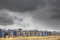 SITTWE, MYANMAR- JUNE, 2015: Saythaner Gyi Camp. Around 7000 people are living in this camp. Not allowed to work, the people are surviving on rations distributed by NGo's. (Picture by Veronique de Viguerie/Reportage by getty Images).