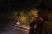 MANILA, PHILIPPINES - OCT, 2016: Police on a drug related crime scene. (Picture by Veronique de Viguerie/ Reportage by Getty Images).