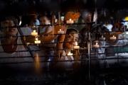 MANILA, PHILIPINES- JUNE, 2017: Ana (43) mère de 6 enfants a décidé de rejoindre le programme Rise Up monté par le Frère Jun Santiago pour dénoncer les pratiques de cette guerre contre la drogue menée par Duterte. Le 15 septembre 2016, la police est entrée de nuit chez elle et a tué son mari et son fils ainé. Elle a décidé de témoigner à la Cour Internationale de Justice. Elle est protégée ainsi que sa famille par la congrégation Rédemptoriste de l'Eglise de Baclaran. 43-years-old Ana, mother of 6 lost her husband and her eldest son killed by the police the 15th of september 2016. She joined the Rise Up program foundde by Br Jun Santiago and has decided to be a witness in the case against the president Duterte in front of the International Court of Justice. The Baclaran Church offers her and her family a full protection.  (Picture by Veronique de Viguerie/ Reportage by Getty Images)