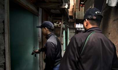 MANILA, PHILIPPINES - OCT, 2016: Tokham Operation in the Tali Papa branguay in Quezon city. (Picture by Veronique de Viguerie/ Reportage by Getty Images).