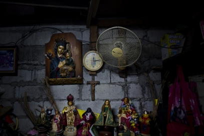 MANILA, PHILIPPINES - OCT, 2016: House of Herman Gatbonton (61), drug user, killed on the 7th of october. He was on the Watch List. (Picture by Veronique de Viguerie/ Reportage by Getty Images).