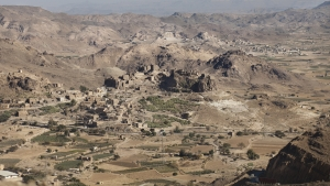 IBB, YEMEN- 2017, NOV: un village yemenite sur la route entre Sanaa et Ibb.A Yemen village on the road from Sanaa to Ibb.