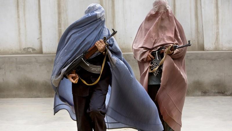 AFGHAN POLICE-ARMY-SF LADIES